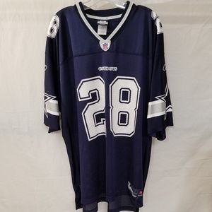 NFL Reebok Dallas Cowboys #28 Felix Jones Jersey